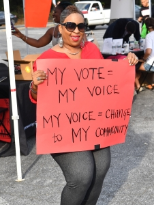 T.I. Hosts Voter Registration Drive and Community Cookout