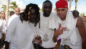 T-Pain, Akon, & Chris Brown