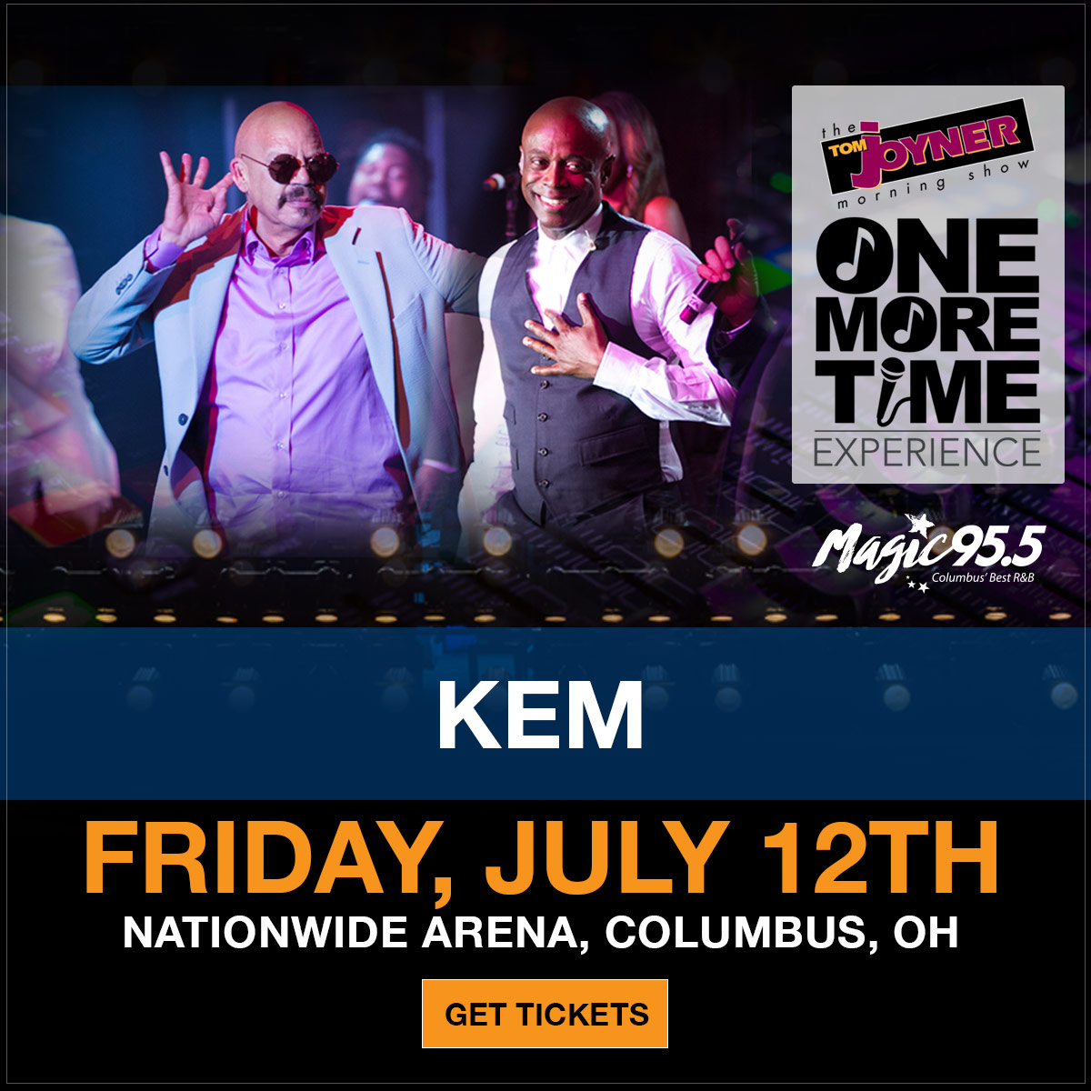Tom Joyner One More Time Experience columbus