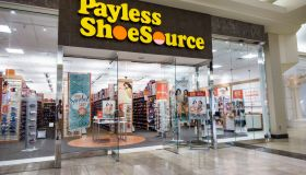 The entrance to Payless ShoeSource at the Coastland Center Shopping Mall.