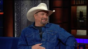 Garth Brooks during an appearance on CBS' 'The Late Show with Stephen Colbert.'