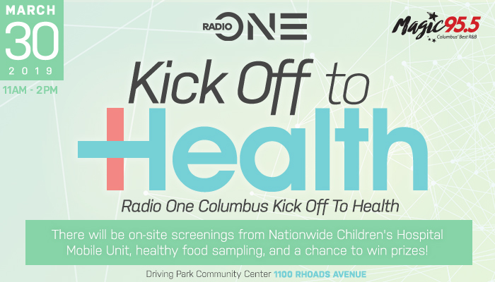 Radio One Columbus Kick Off to Health