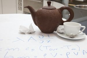 The Proof is in the Pouring: Experts crack the problem of the chocolate teapot!