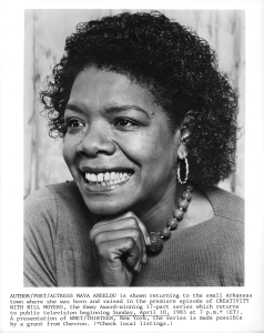 Publicity Still Of Maya Angelou
