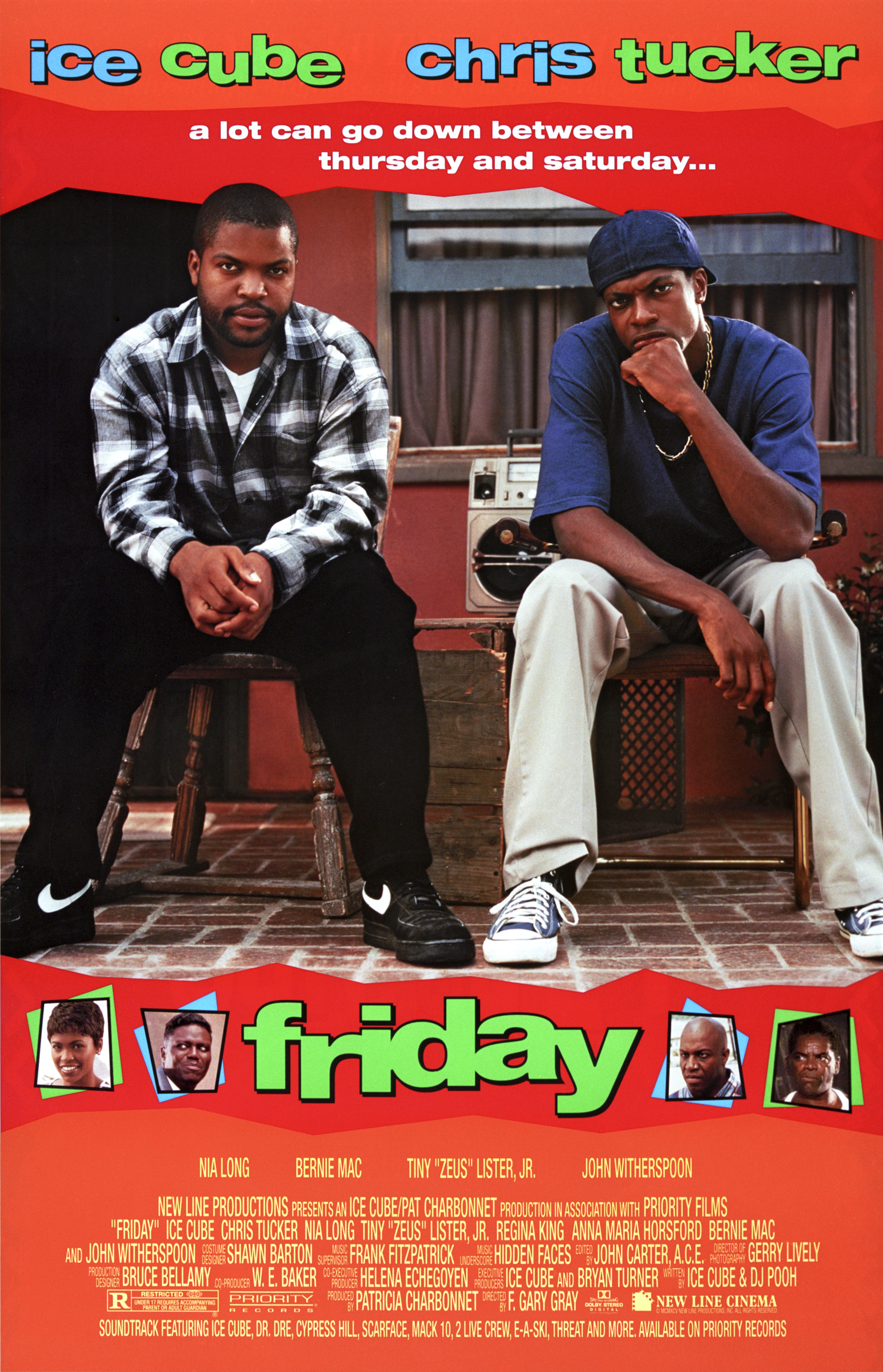Poster For 'Friday'