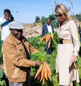 Queen Maxima visit to Ethiopia - 14 May 2019