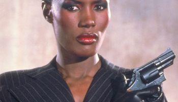 Grace Jones -- Black Bond Girls
