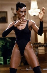 Grace Jones -- Black Bond Girls