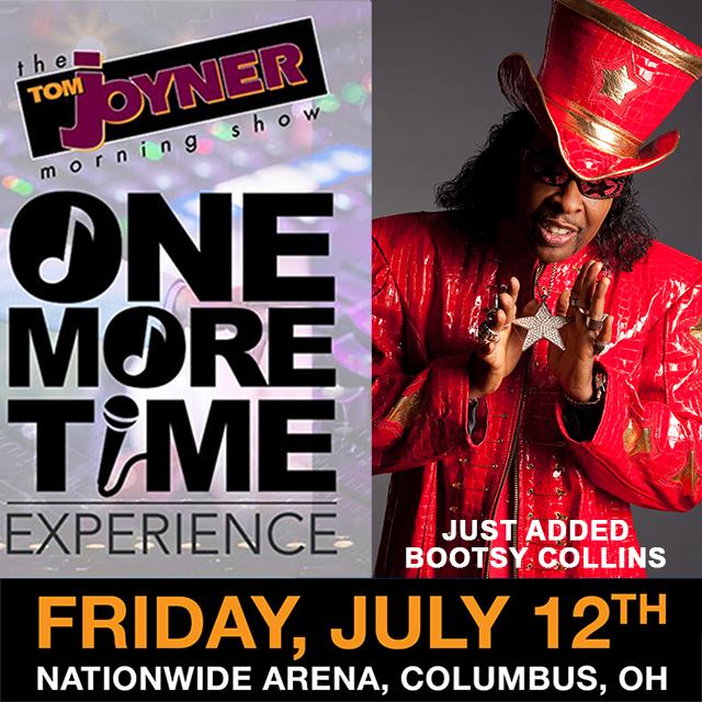 Tom Joyner One More Time Tour Columbus Bootsy Collins