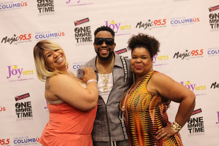 Raheem Devaughn Meet and Greet at the One More Time Experience in Columbus
