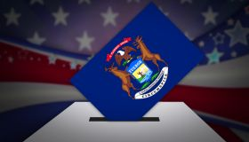 Ballot Box - Election - MICHIGAN, USA