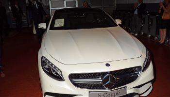 Mercedes-Benz S-Klasse Coupe premiere at Mercedes-Welt Salzufer dealership.