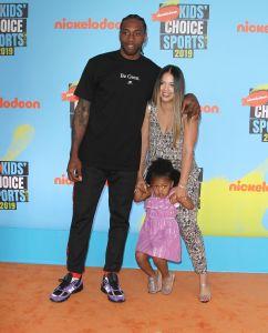 Kawhi Leonard attends The Kids Choice Sport 2019 in Los Angeles