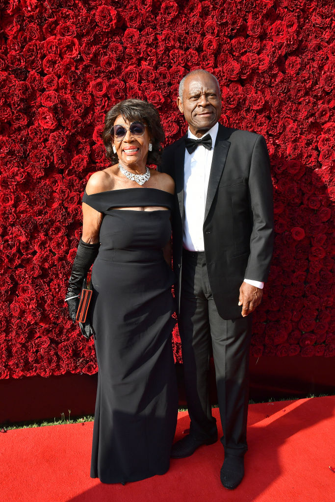 Maxine Waters and her husband, Sid Williams