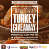 Thanksgiving Back Turkey Giveaway