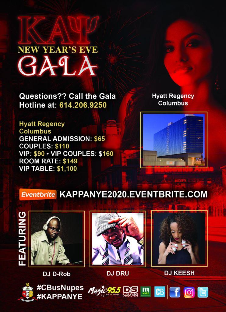 Columbus Kappa Foundation NYE Event