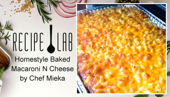 Recipe Lab Homestyle Mac&Cheese