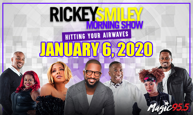 Rickey Smiley Coming Soon Artwork WXMG