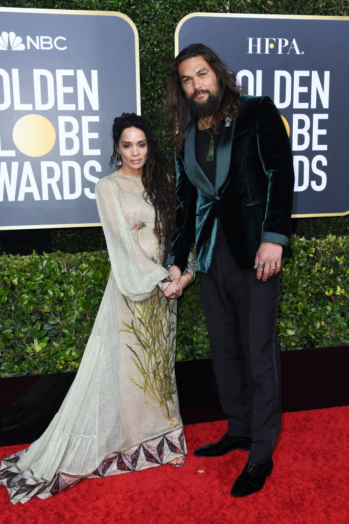 Lisa Bonet in Fendi and Jason Momoa