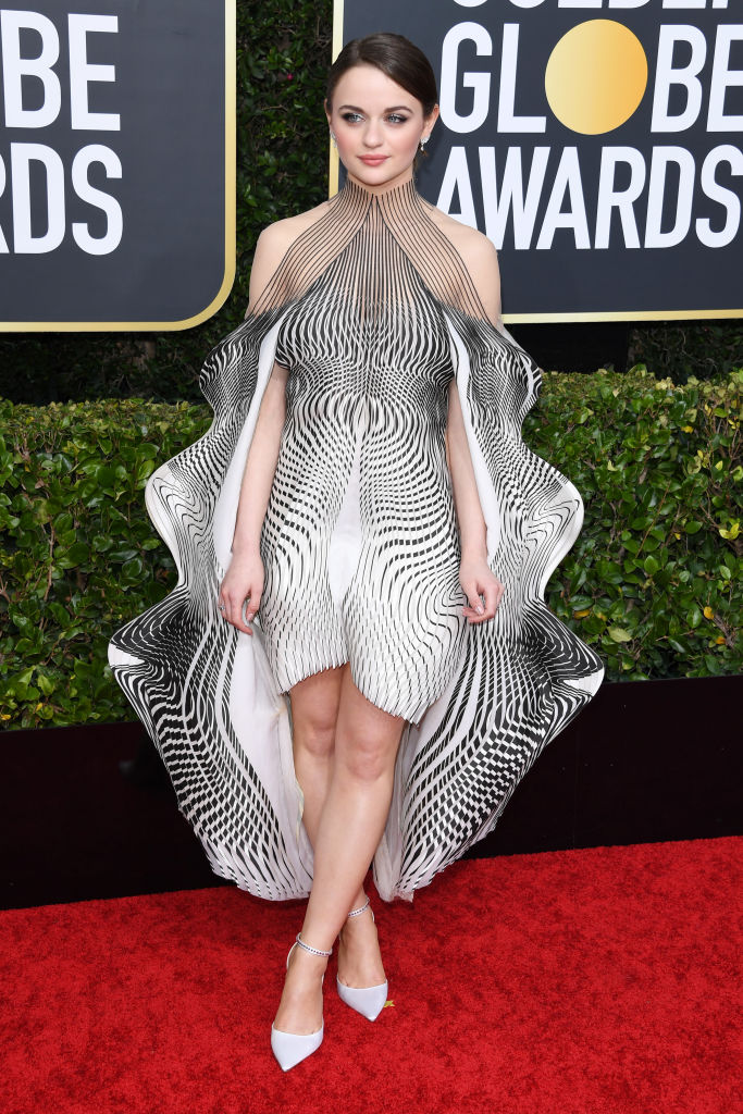 Joey King in Iris Van Herpen