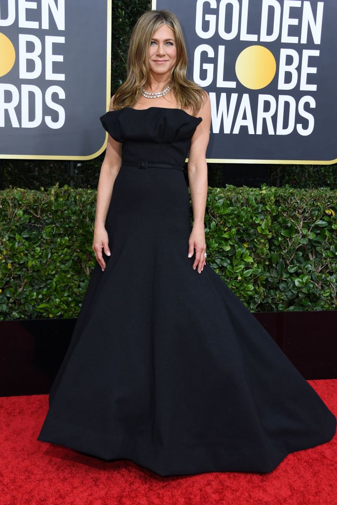 Jennifer Aniston wearing Christian Dior