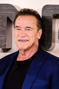 Arnold Schwarzenegger poses at Photocall for TERMINATOR: DARK FATE on Thursday 17 October 2019