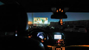 Drive-in cinema opens in Kaliningrad, Russia, amid COVID-19 pandemic