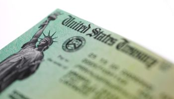 Economic impact payment check from the US treasury