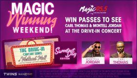 Magic Winning Weekend Drive in Concert Carl Thomas